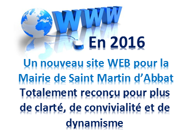 Nouveau site WWW